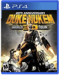 Duke Nukem 3D PS-4 US 20th Anniversary World Tour