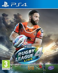 Rugby League Live 4 PS-4 UK