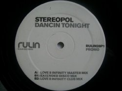 Stereopol - STEREOPOL Dancin Tonight 12""